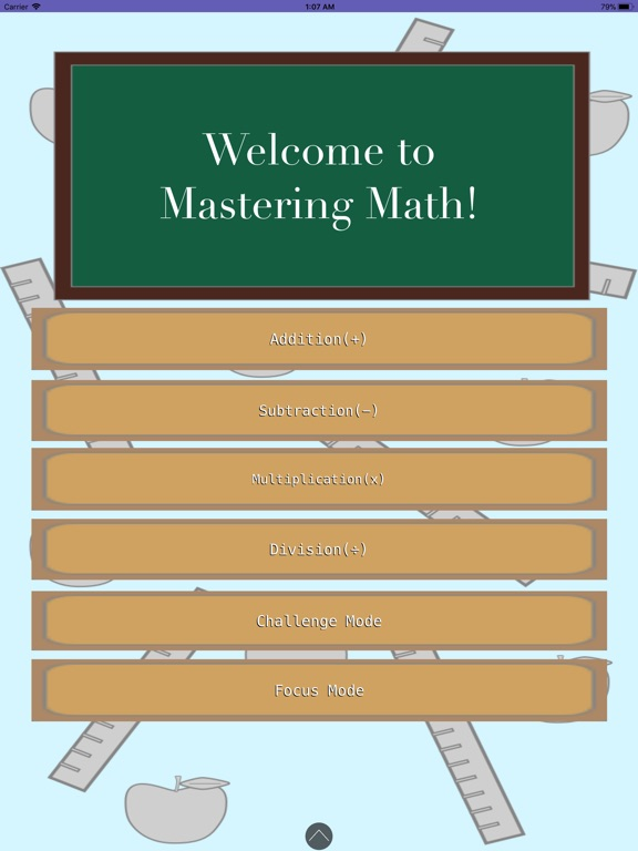 Mastering Math Screenshots