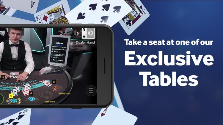 Betway- Live Casino & Roulette screenshot-3