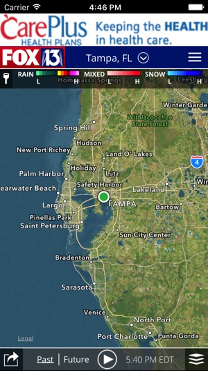 Skytower Radar App From Fox 13 On The App Store