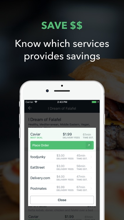 Bootler - Food Delivery screenshot-3