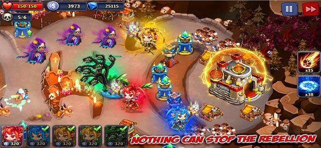 Kingdom Defense: Heroes War TD