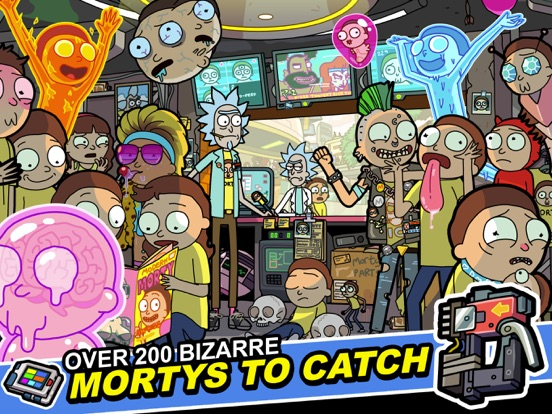 Скачать игру Rick and Morty: Pocket Mortys