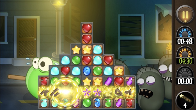 Jewel World Candy Halloween screenshot-0