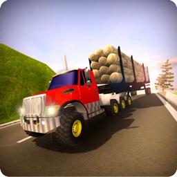 Long Heavy Truck Cargo Drive
