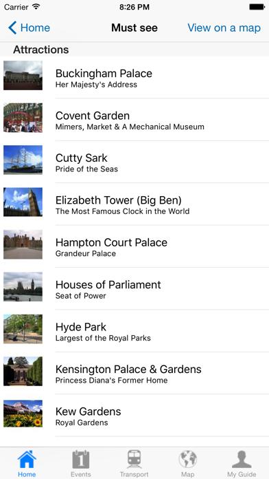 London Travel Guide Offline review screenshots