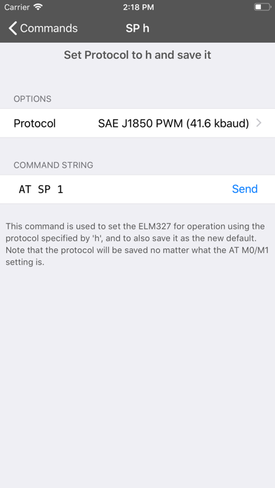 OBD Terminal for ELM327 by Garry Cliffe (iOS, United States