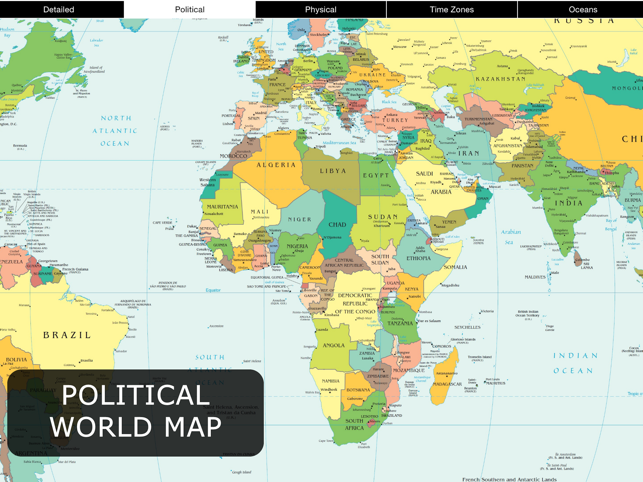 World map for ipad on the app store world map for ipad on the app store gumiabroncs Choice Image