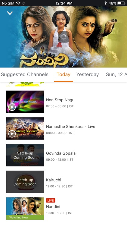 YuppTV - Live TV & Movies screenshot-4