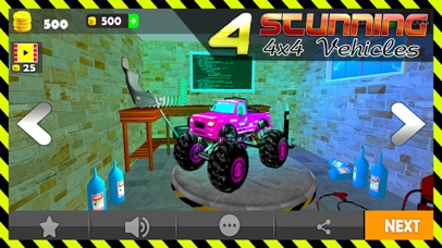 OffRoad Extreme Car Stunts 3D screenshot 1