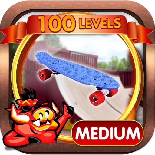 Skate Park Hidden Objects Game iOS App