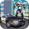 Police Robot Car Transform