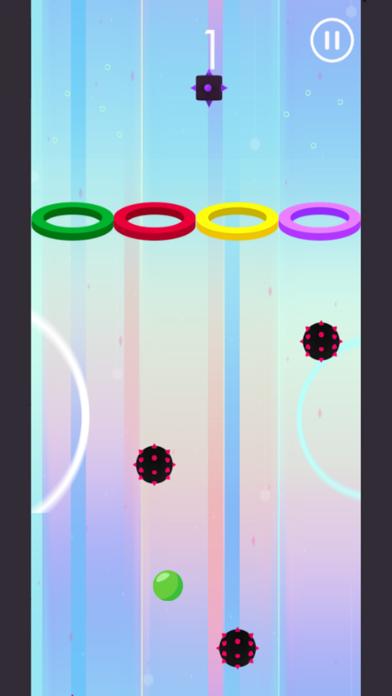 Hoop Wall Color Ball screenshot three