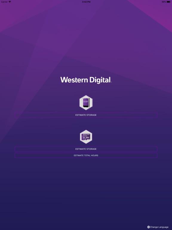 WD Purple Storage Calculator-ipad-1