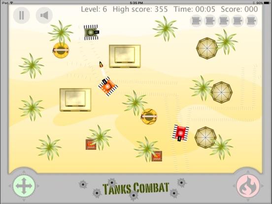 Screenshot #2 for Tanks Combat