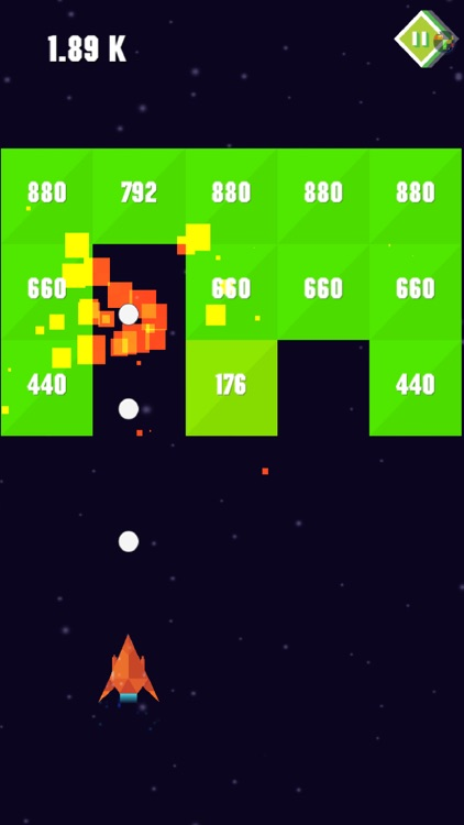 Ballz space : Bricks Breaker