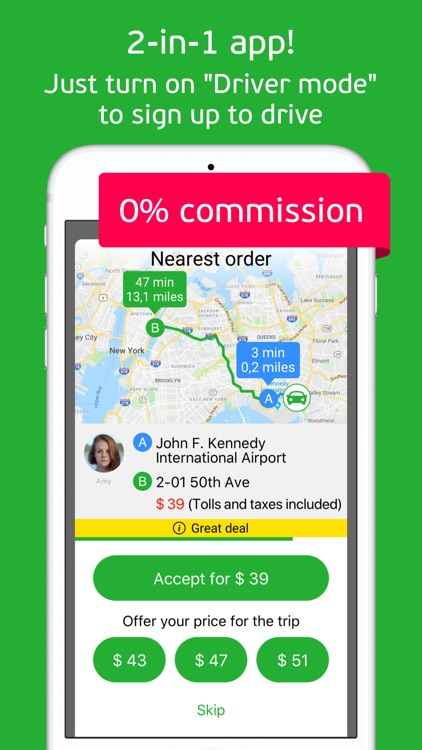 inDriver: Offer your fare, NYC screenshot-3
