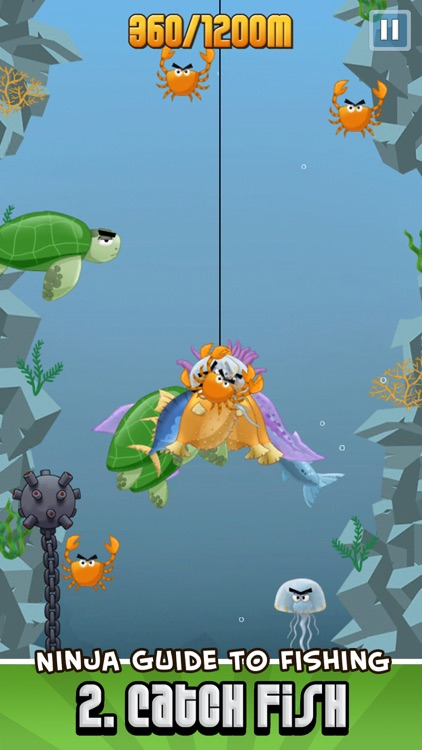 Ninja Fishing screenshot-2