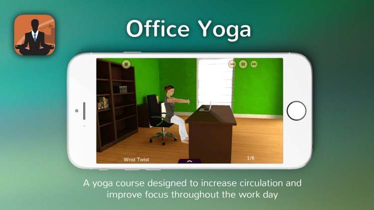 Office Yoga: At Your Desk screenshot-0
