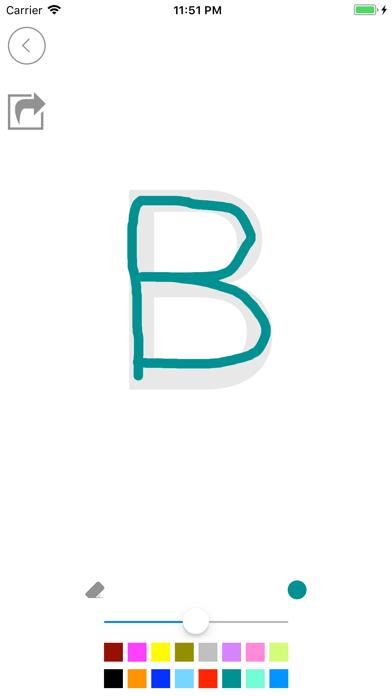 تعلم الحروف والأرقام الانجليزي screenshot 4