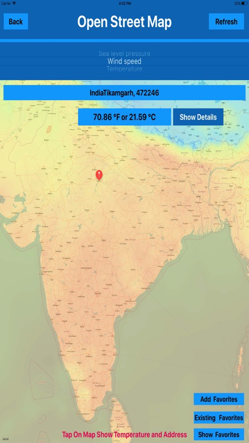 Weather maps of the World MGR App 截图
