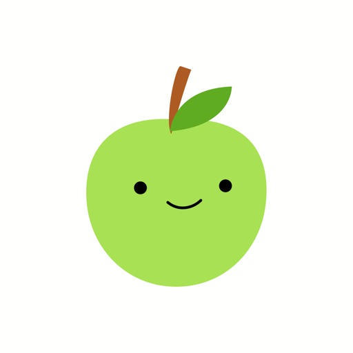Cute Green Apple Stickers