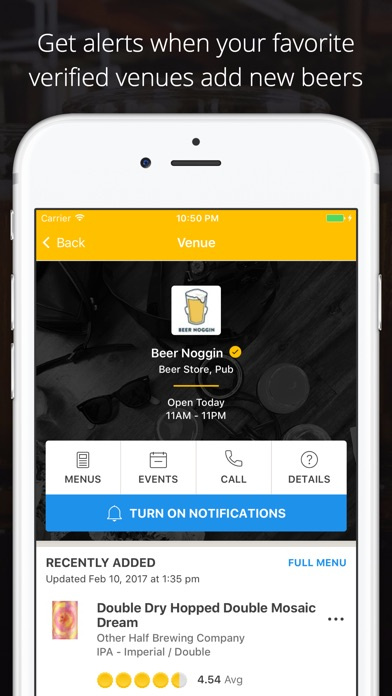 Untappd - Discover Beer iPhone