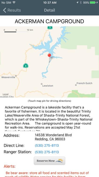Camping USA screenshot-3