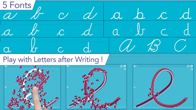 cursive writing app for adults
