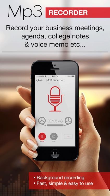 Mp3 Voice Recorder :Audio Note