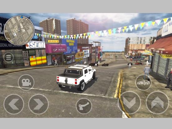 Project Grand Auto Town на iPad