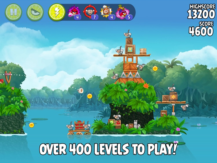 Angry Birds Rio HD screenshot-2