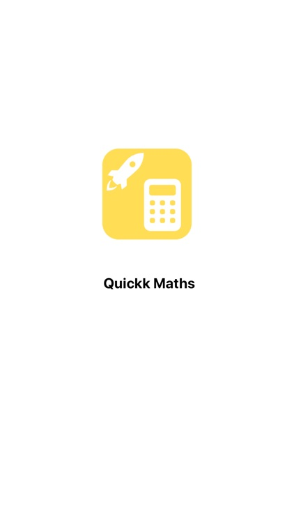 Quickk Maths screenshot-0