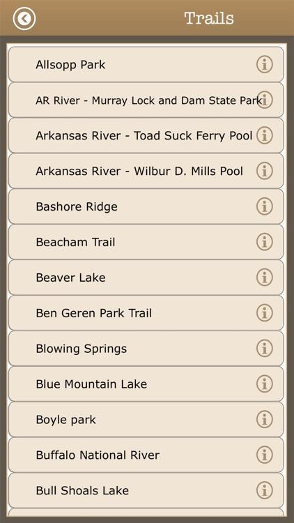 Arkansas Camps & Trails,Parks screenshot-3