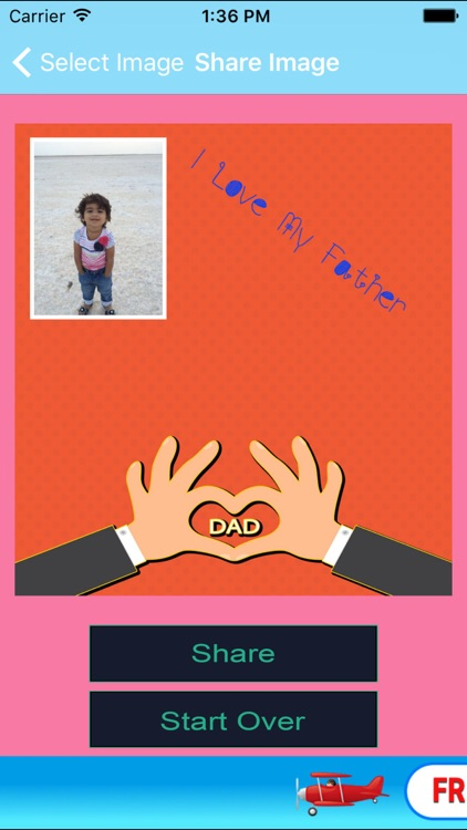 Happy Father Day Greeting Card screenshot-3