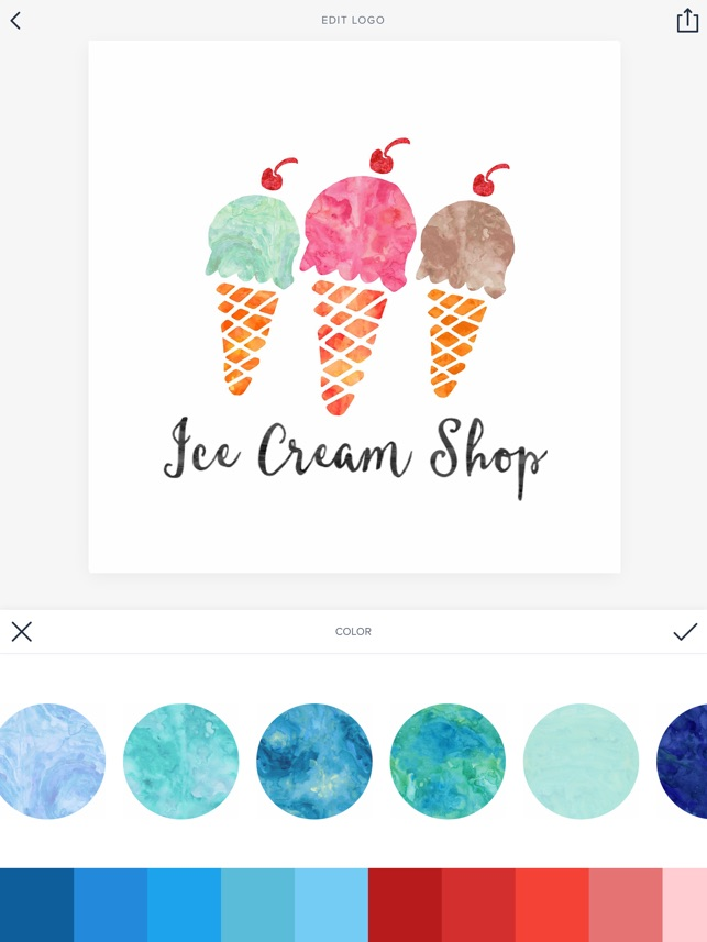 Watercolor logo maker on the app store ccuart Gallery
