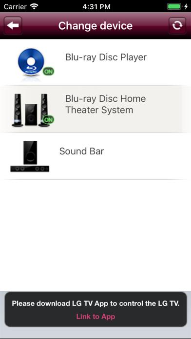 LG AV Remote by LG Electronics, Inc  (iOS, United States