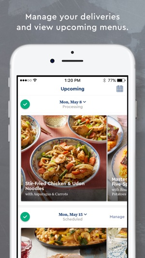Blue apron on the app store blue apron on the app store forumfinder Gallery