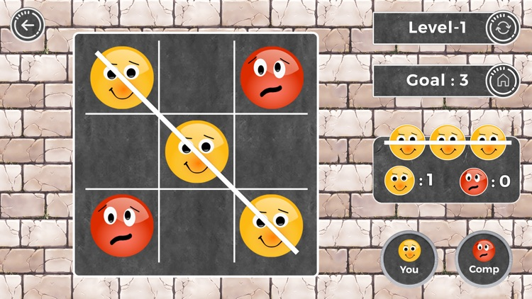Tic Tac Toe : Multi Level Game screenshot-3