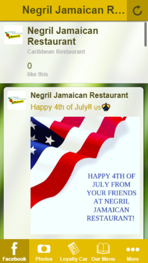 Negril Jamaican Restaurant on the App Store