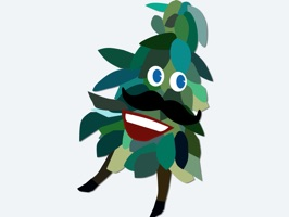 an iMessage sticker app for trees