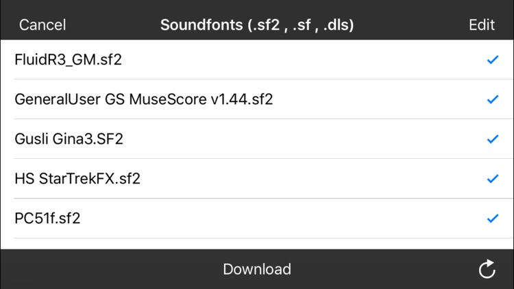 Soundfont Archive