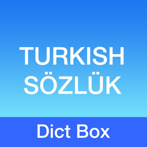 Turkish Dictionary - Dict Box