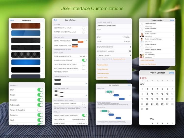 QuickPlan Basic - Project Plan screenshot-8