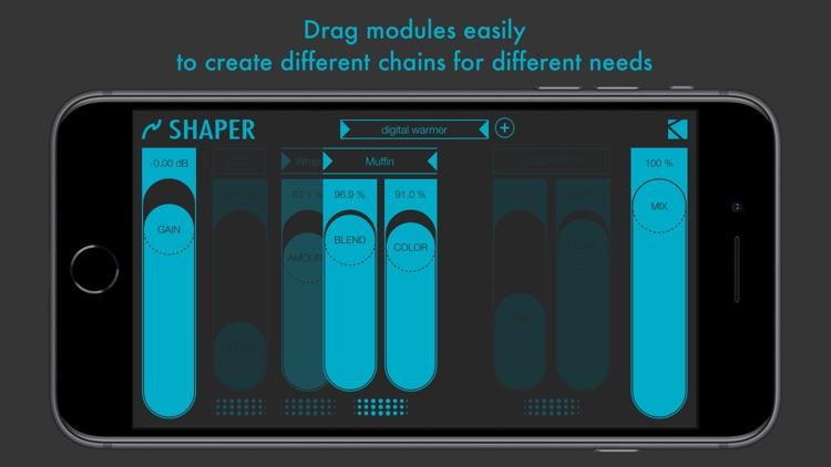 Shaper : smart audio destroyer