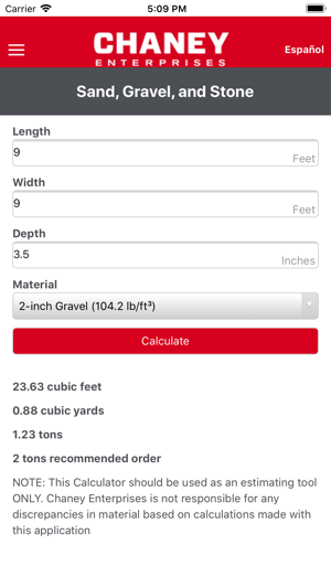 Concrete and Agg Calculator on the App Store
