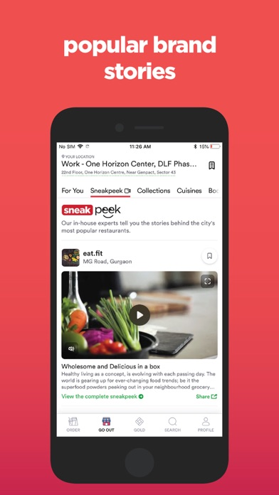 Zomato - Food & Restaurants Preview 2
