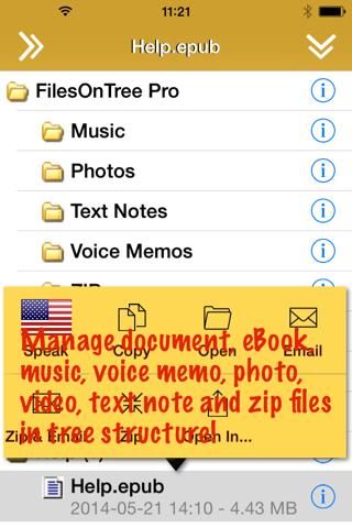 FilesOnTree Pro Lite - Tree File Explorer - náhled
