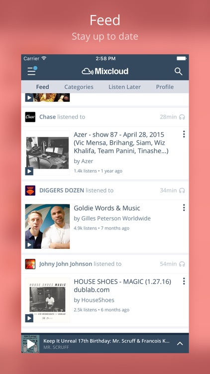 Mixcloud - Radio & DJ mixes