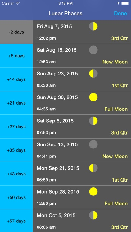 Moon Seeker - Lunar Calendar and 3D Path Viewer