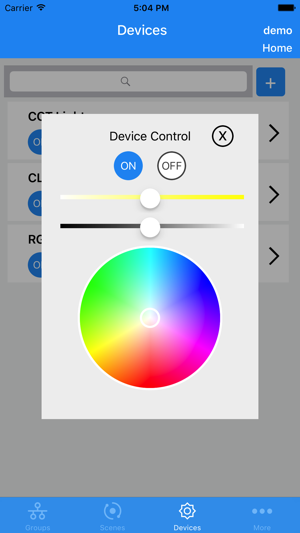 WiSilica Lighting on the App Store